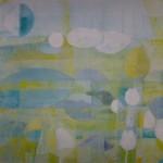 Frühling I / 40 x 40 cm