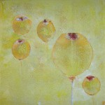 Wüstenblume / 30 x 30 cm