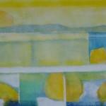 Zwischenzeiten - Licht I / 120 x 40 cm